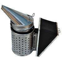 Дымарь пасечный со съемным мехом с ограждением - фото