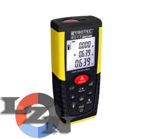 Дальномер лазерный цифровой TROTEC BD15 - фото